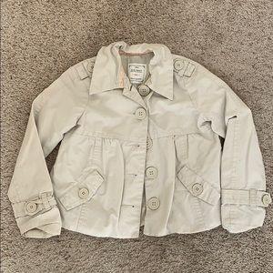 Girls Old navy button down lightweight jacket S